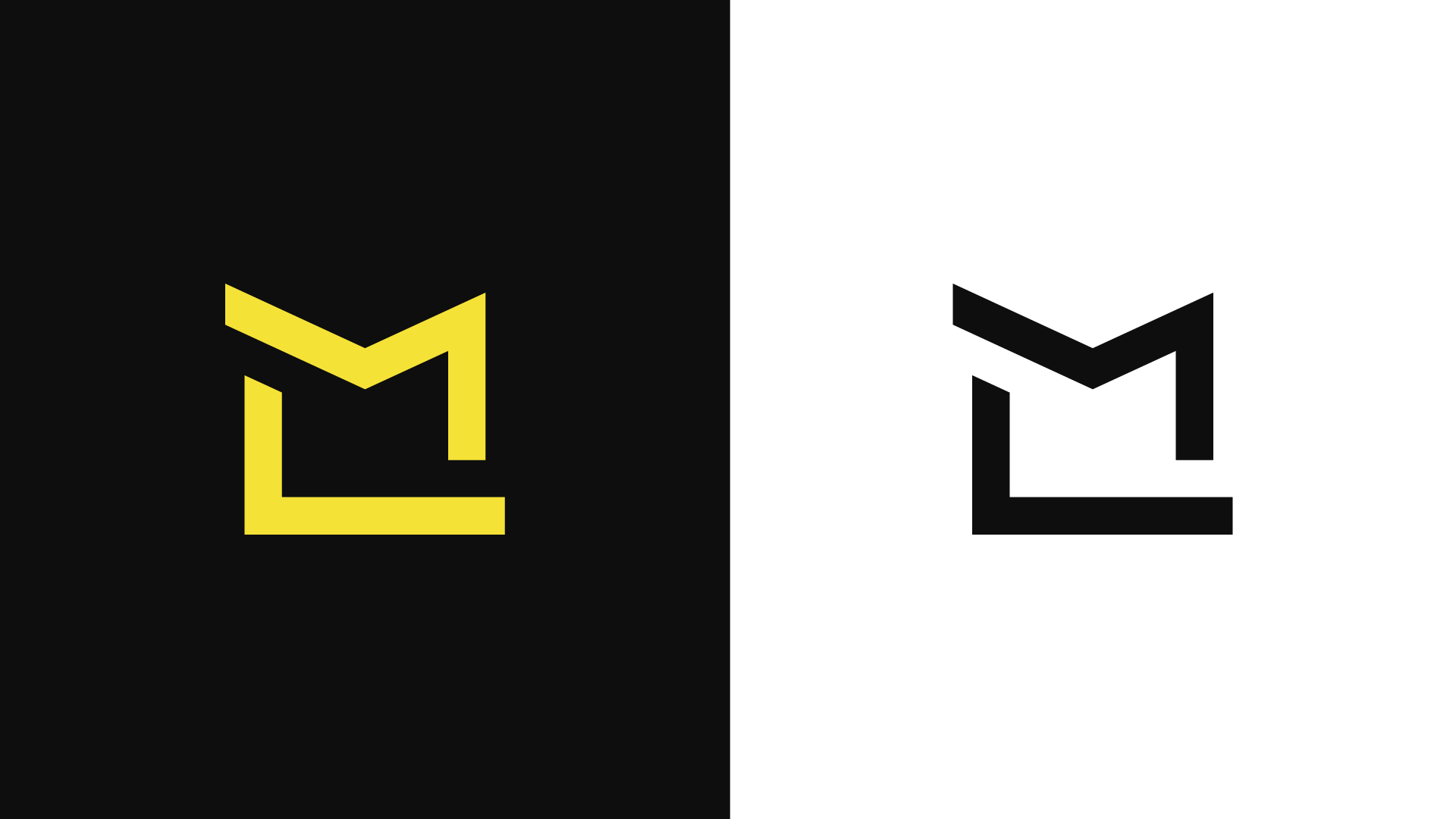 Ml Logo Design